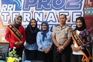 Duta Humas Polda Malut Sosialisasi Millenial Road Safety Festival
