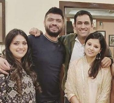 Dhoni family photos