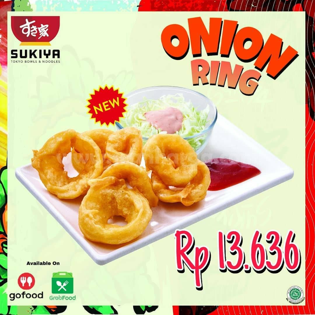SUKIYA Onion Ring Harga spesial cuma Rp 13.636