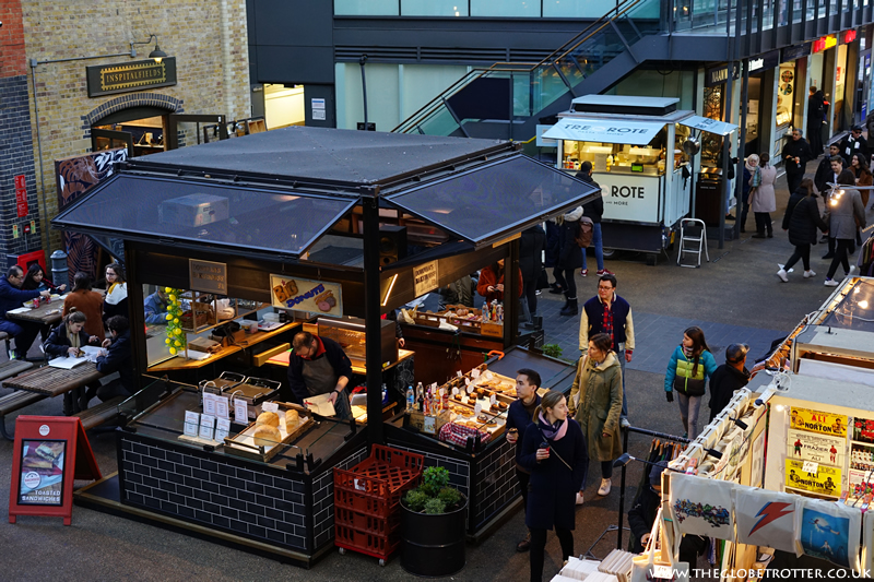 Food Stalls at Old Spitalfields Market