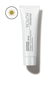 youth age defense moisturizer spf50, youth moisturizer