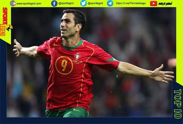 افضل عشر لاعبين في تاريخ البرتغال