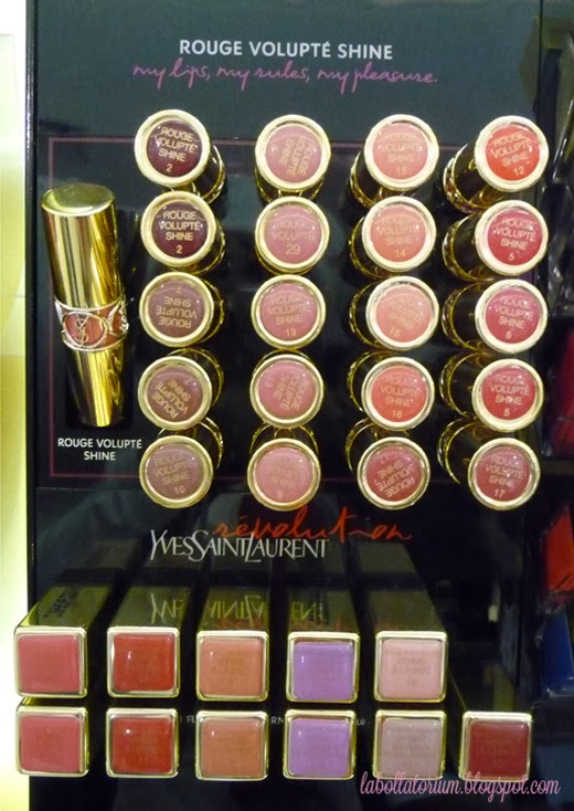 Beauty Event - Romancing with YSL (Yves Saint Laurent) Counter PVJ Lipstick