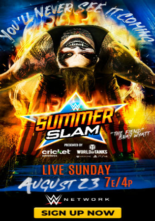 WWE SummerSlam 2020 PPV WEBRip 480p 700MB