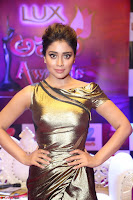 Shreya Saran in Skin Tight Golden Gown ~  Exclusive 008.JPG