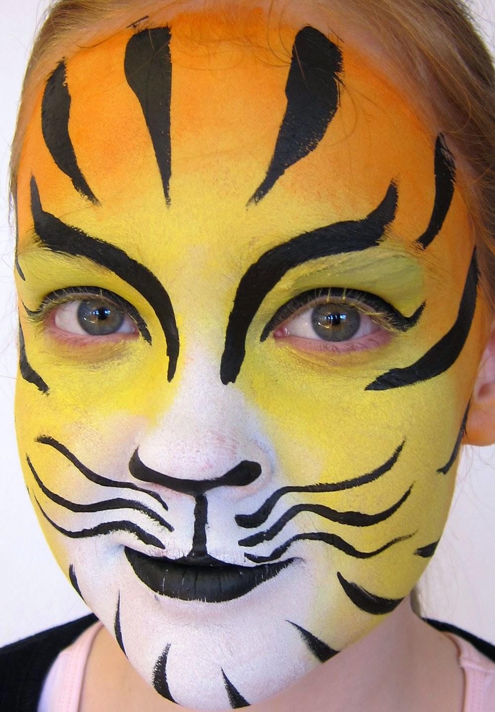Vandsminke Tiger ansigtsmaling