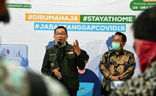 Gubernur  Jawabarat Siapkan Dana Rp,14.187 Triliun,Untuk Dana Dampak Terkena Virus Covid-19