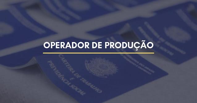 operador produção