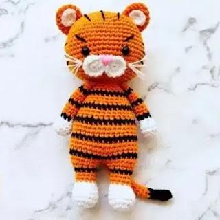 Amigurumi Tigre a Crochet