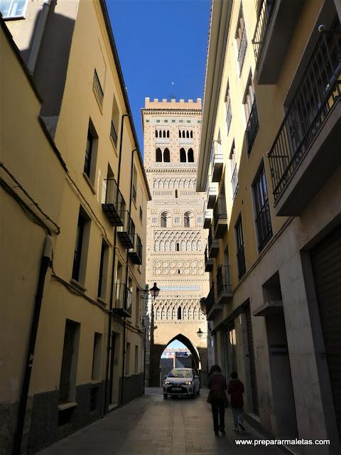 Torre de la Iglesia de San Martín en Teruel