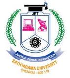 Sathyabama BIOTECH/Life Sciecnes Scientist/Faculty Jobs 2021