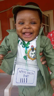 Cute Carrissa at NYSC camp