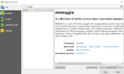 Installing mmqgis Plugin