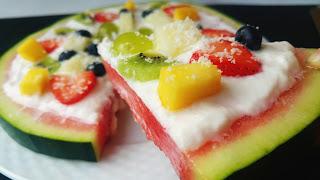 Juego de blogueros 2.0: Pizza de sandia