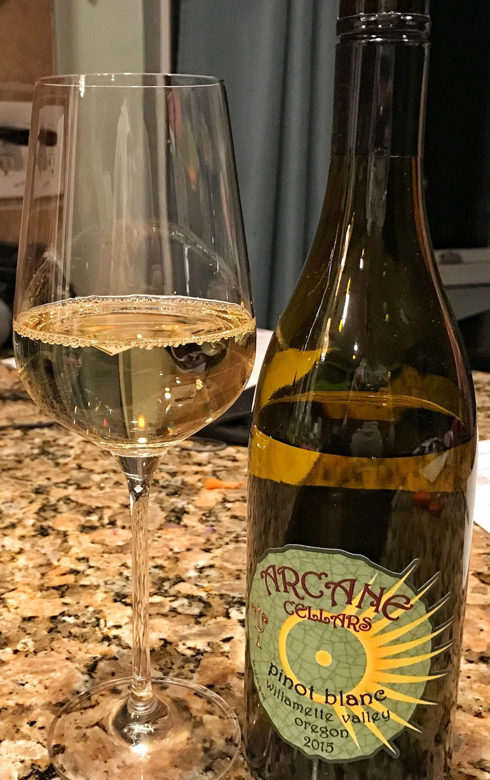 One more & 2015 Arcane Cellars Pinot Blanc | The Nittany Epicurean