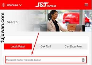 Cara Melacak Paket J&T di Shopee dengan nomor resi
