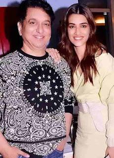 Kriti Sanon With Sajid Nadiadwala