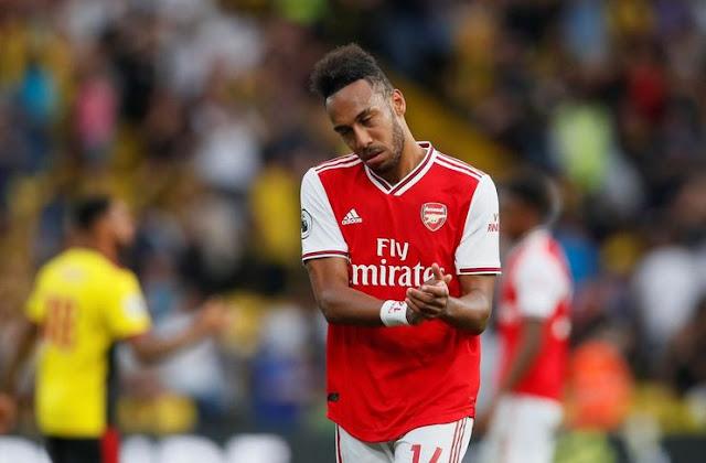 Aubameyang Wonder Arsenal Fail to Overcome Watford