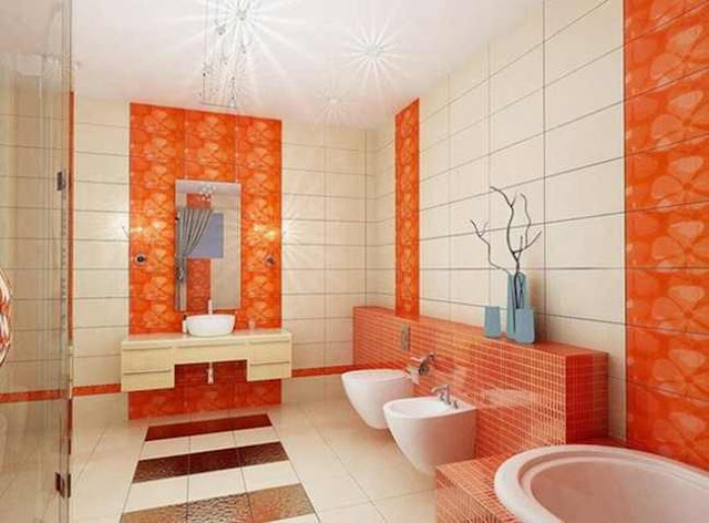 Luxury Bathroom Tile Patterns And Design Colors Of 2018: different design and colors of tiles