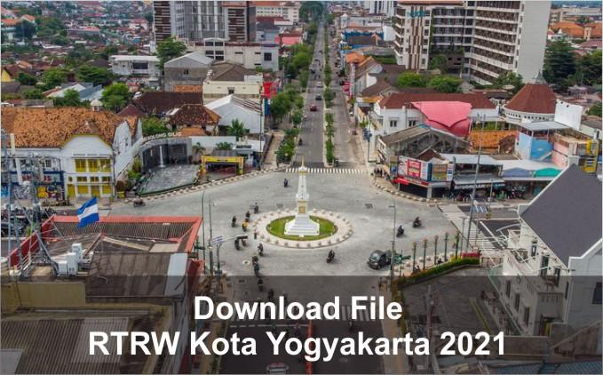 download RTRW Kota Yogyakarta 2021
