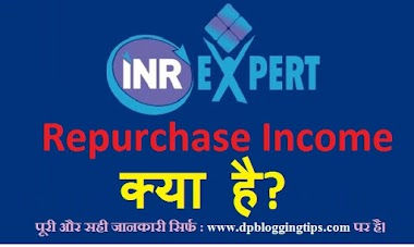 INR Expert Repurchase Income क्या है ? Full Details in Hindi