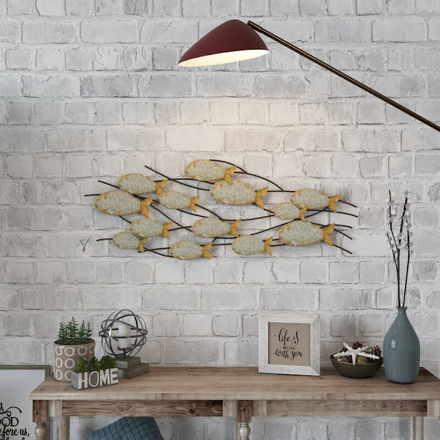 Metal Fish Wall  Decor