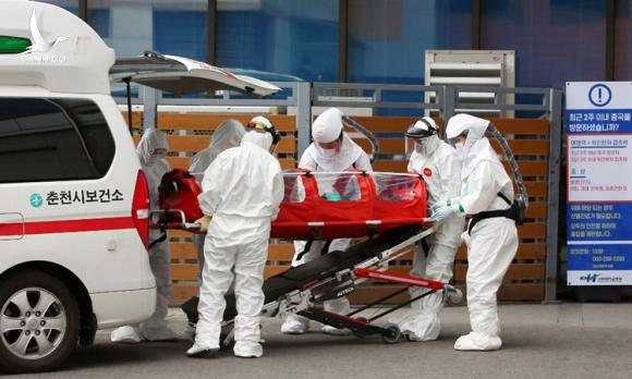 Số ca nhiễm nCoV ở Hàn Quốc lên gần 1.600