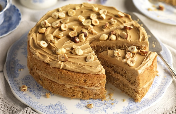 How the coffee cake works