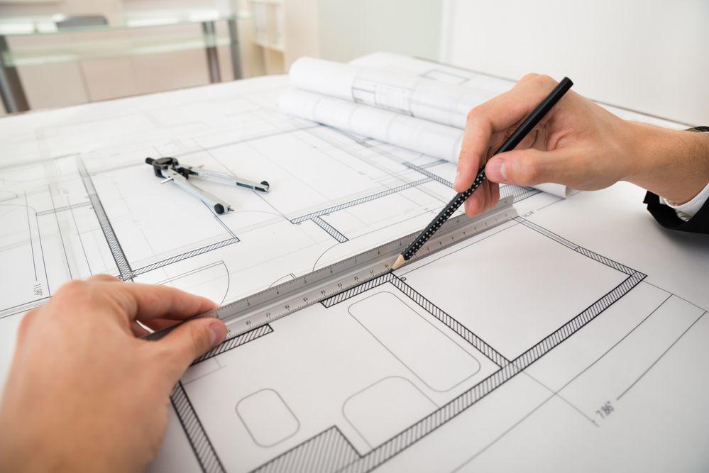 Cómo dibujar el plano a escala de una habitación_3