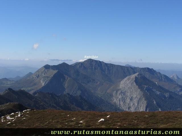 Ruta de los Arrudos y Corteguerón: Vista desde el Corteguerón del Retriñón