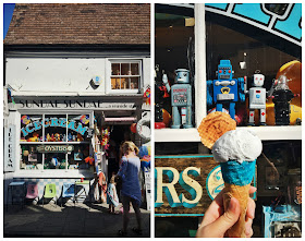 Ice Cream on Harbour Street Kent