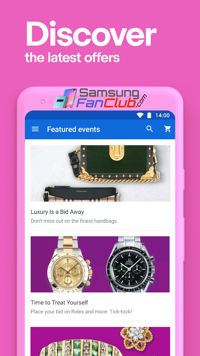 Download eBay Shopping, Buy & Sell Android App for Samsung Phones