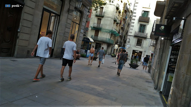 Placeta de Montcada, Barcelona, el Born, la Ribera.