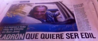 Vitette, El País, San José, homicida
