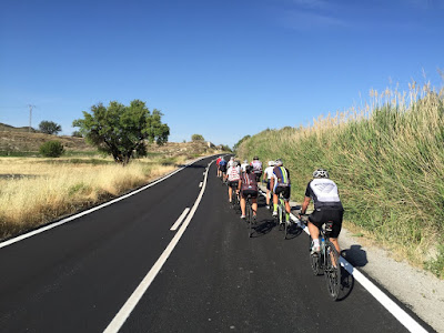Cycling Costa del Sol in Spain, our carbon road bike rental in Malaga