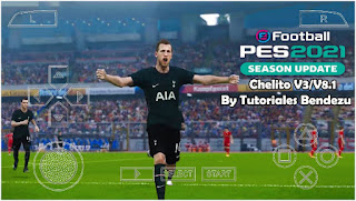 Download PES 2021 PPSSPP Android Chelito V8.1 Update Camera PS5 Fix Cursor Name & Full Transfer