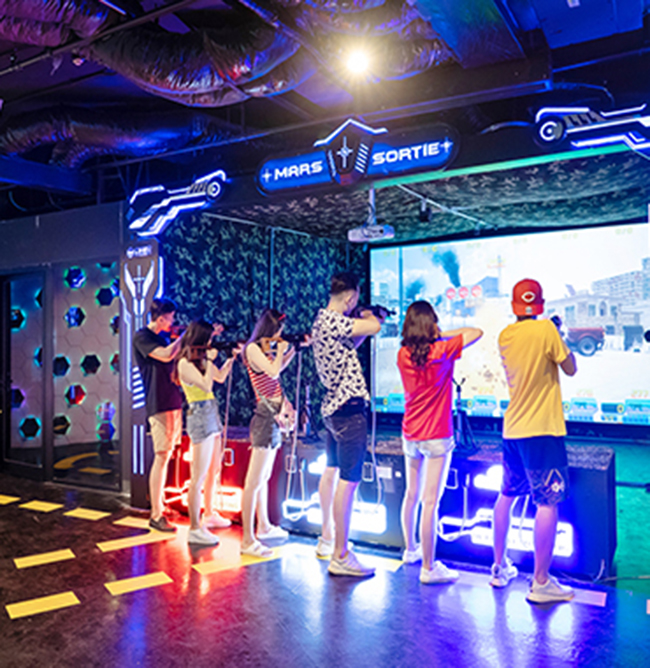 Trung tâm giải trí thực tế ảo VR Game Flamingo Đại Lải 01