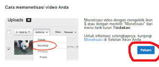 Peninjauan Monetisasi Youtube