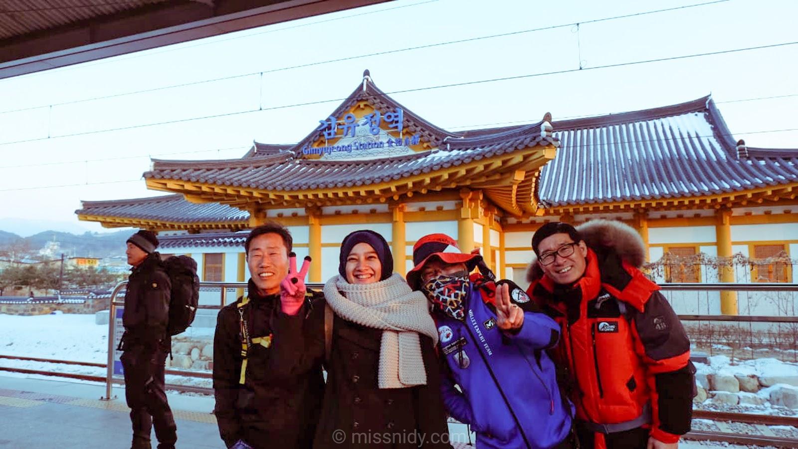spring trip to south korea