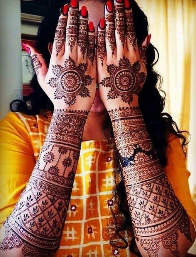 Henna Design For Wedding 2019
