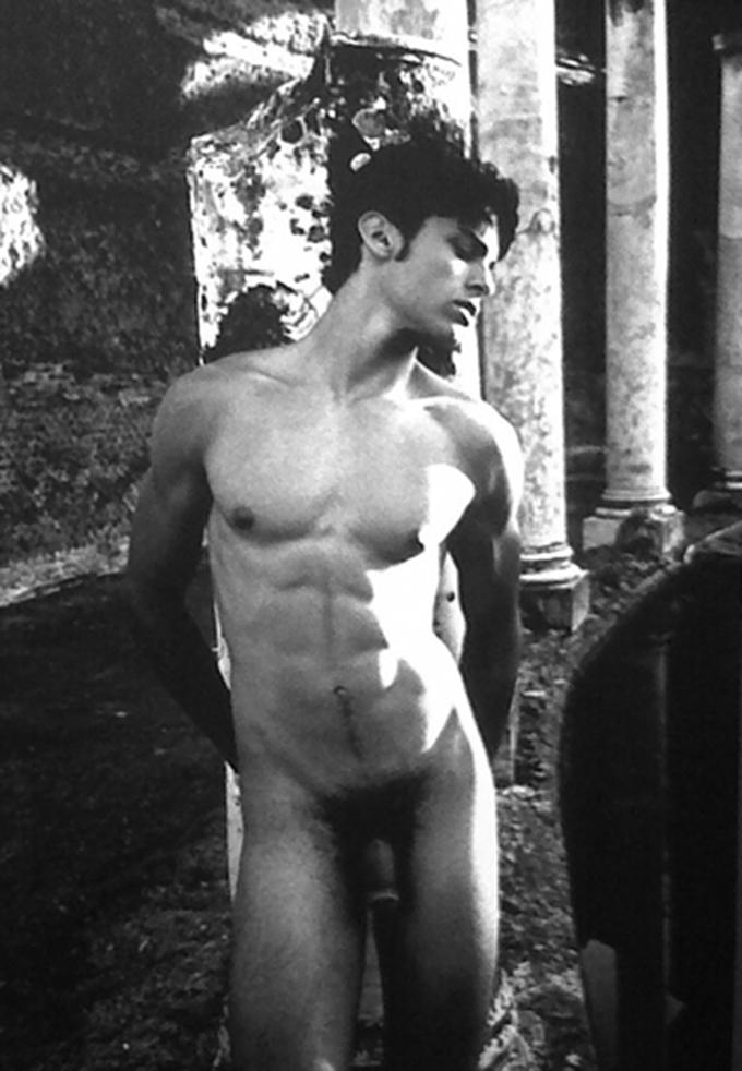 libby nude Alex male model