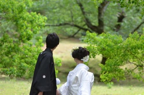 奈良で和装前撮りロケーション