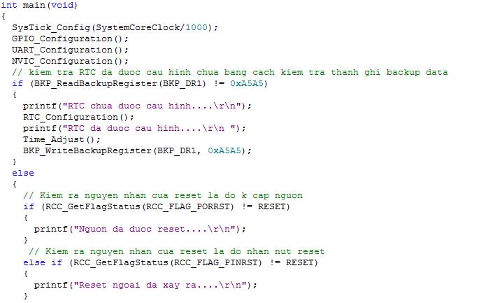 Stm32f103 Rtc Example Code