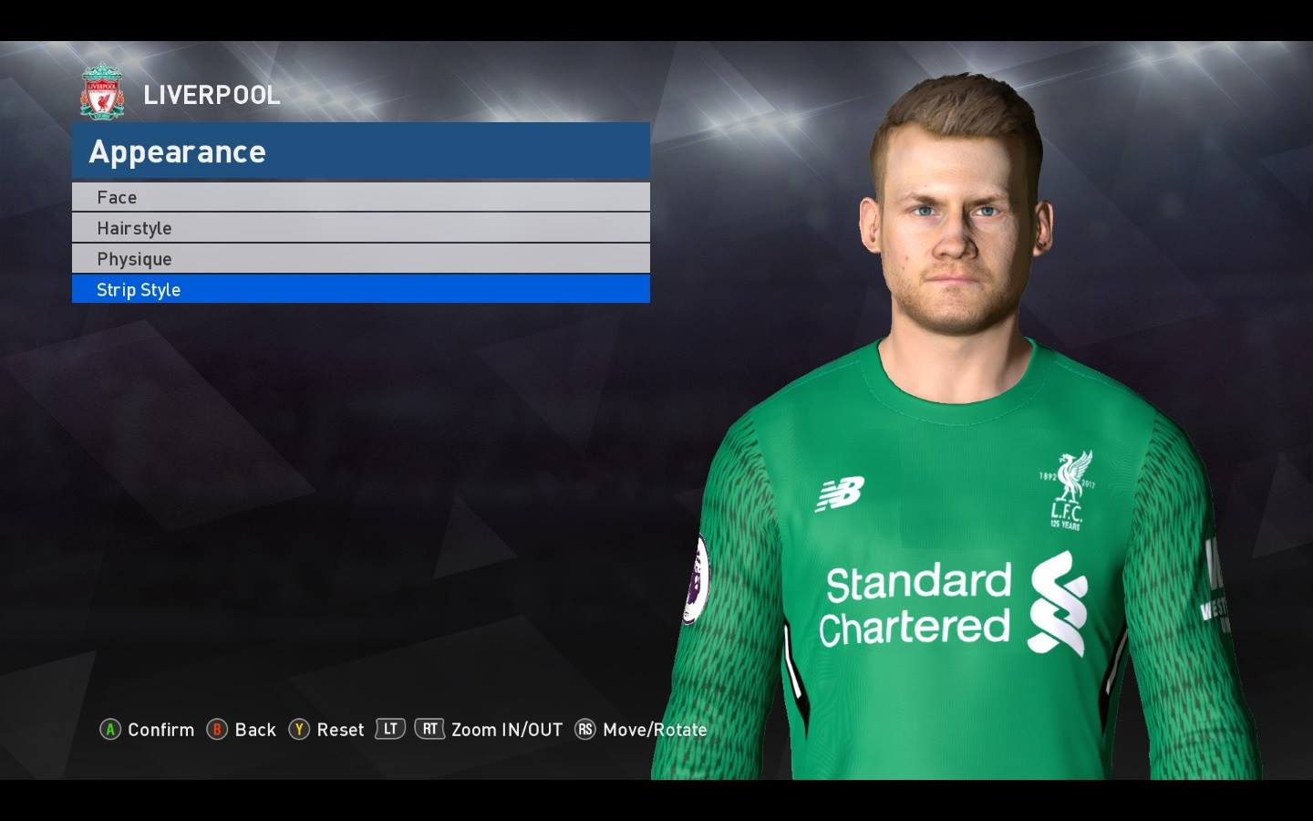 Face Mignolet PES 2017 by Shenawy