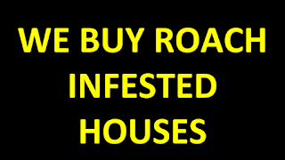 how to sell a roach infested house