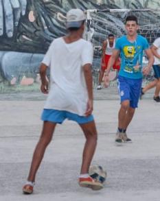 Football beginning sport of choice in Cuba