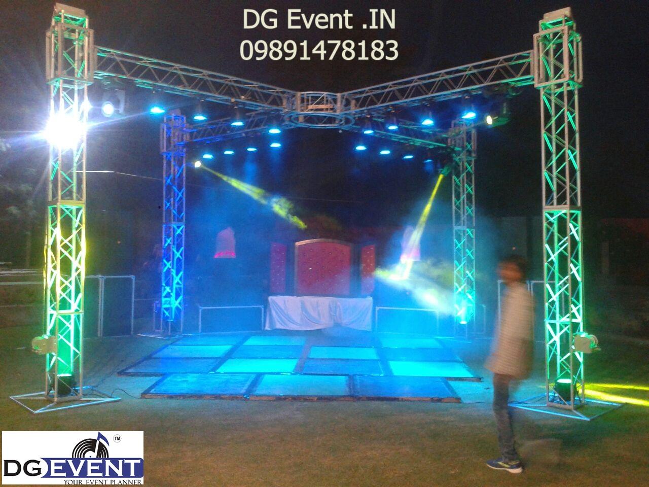 4 Side Truss Dj Sound Light Setup By DG Event In Dgeventin09891478183 09891478560