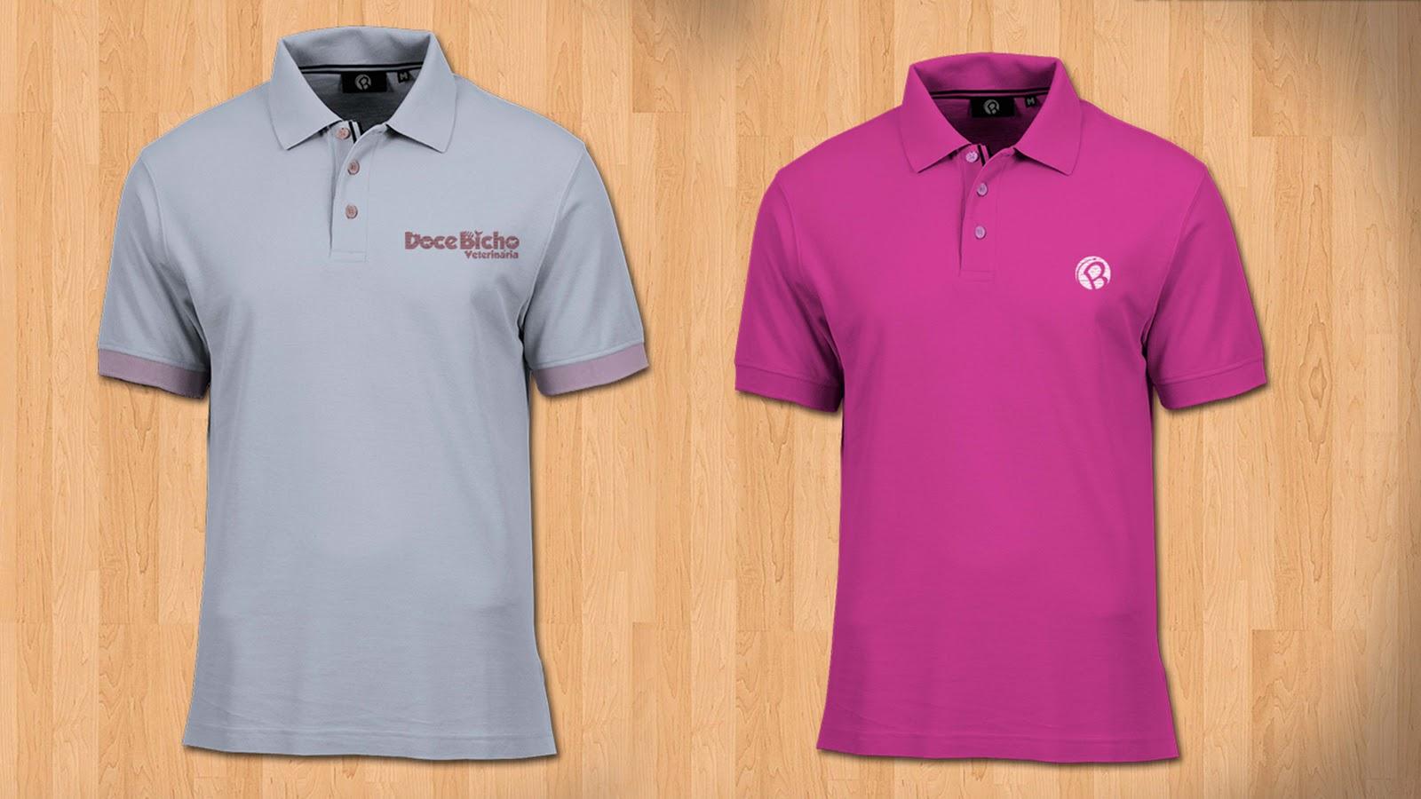 Free Psd Mockup Polo Shirt Graphic Temple