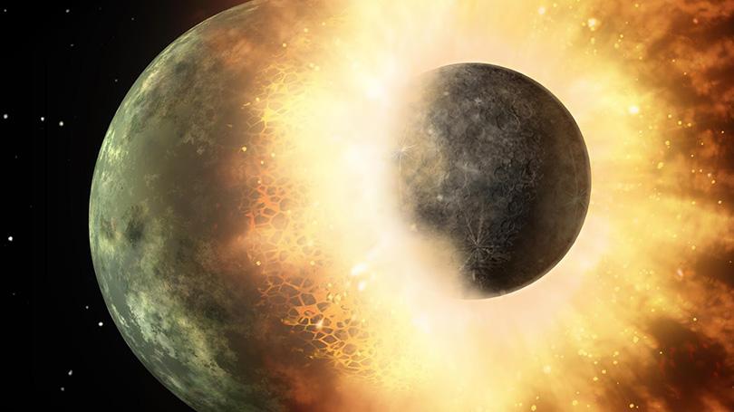 bagaimana bulan terbentuk