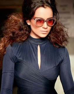 kangana-ranaut-wearing-stylish-sunglasses-and-full-sleeve-violet-mini-dress-in-october-2013-filmfare-magazine-photo-shoot
